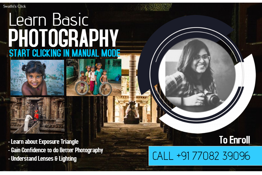 Photography course in Koramangala bangalore